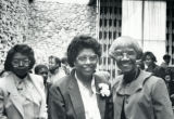 Shirley Chisholm with Catherine Wallace