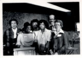 Maya Angelou lecture group portrait