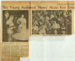 Young Audiences of Indiana press clipping