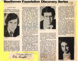 Beethoven Foundation Discovery Series clipping
