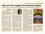 Indy Jazz Fest regains firm financial footing clipping