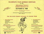 German-American Day flyer