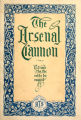 Arsenal Cannon, 1920, cover