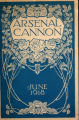 Arsenal Cannon, 1918, cover