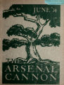 Arsenal Cannon, 1934, cover