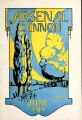 Arsenal Cannon, 1919, cover