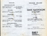Dance Kaleidoscope in Concert program