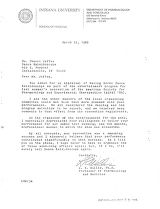 Letter from L.R. Willis to Cherri Jaffee
