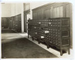 Card catalog on the Cret balcony