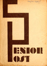 Senior Post, 1945, cover