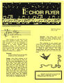 ICC Choir flyer, Volume II, Issue 6, April 1988