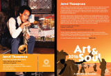 2016 Art and Soul flyer