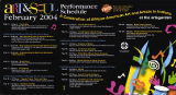 2004 Art and Soul event schedule