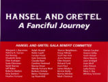 Hansel and Gretal: A Fancifal Journey invitation