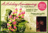 A Holiday Homecoming flyer