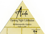 Aida Opening Night Celebration invitation
