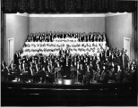 Indianapolis Symphonic Choir with the Indianapolis Symphony Orchestra early photograph.