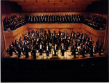 Indianapolis Symphonic Choir with the Indianapolis Symphony Orchestra photograph, 1986