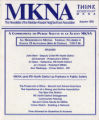 MKNA: the newsletter of the Meridian-Kessler Neighborhood Association, Autumn 1993