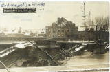 Ruins of Meridian St. Bridge, Indianapolis, IND. - Flood Mar. 26, 1913