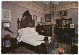 James Whitcomb Riley's Home, bedroom of James Whitcomb Riley