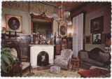 James Whitcomb Riley's Home, library