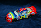 Scale model of Jeff Gordon's race car