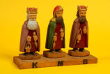 Three Wisemen figures