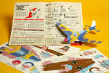 World War II model airplane kit