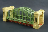 Model of the Hellgate bridge