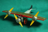 Tri-Motor Airlines toy airplane