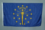 Indiana State Flag carried on space shuttle mission