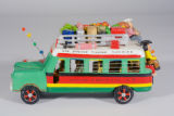 Folk art bus