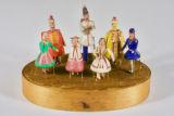 Seven Dancing Dolls (miniature dolls)