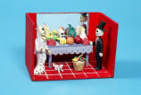 Day of the Dead wedding diorama