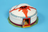 Ger (or yurt) model
