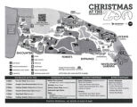 Indianapolis Zoo Christmas at the Zoo map