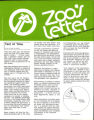 Zoo's Letter, Vol. 16. No. 5, September-October 1976