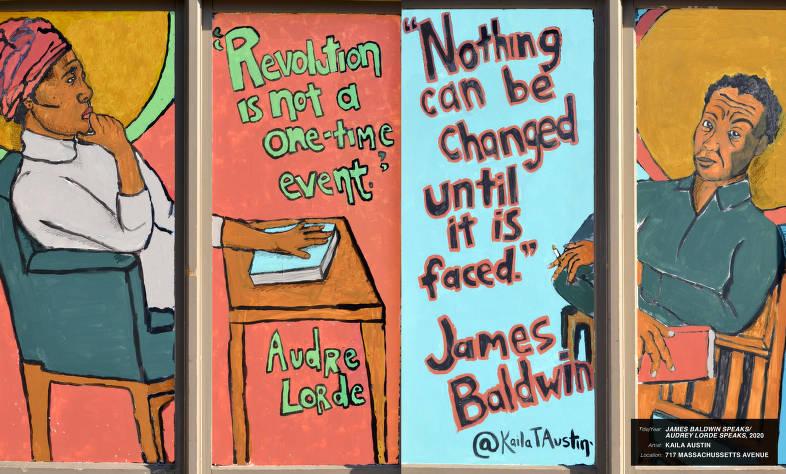James Baldwin Speaks / Audrey Lorde Speaks